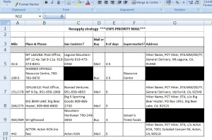 excel - resupply strategy