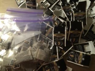 Teabags in a ziplock