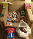 I took this over from the UK: Clif bars, builders bars, Chia Charge, Bounce bars, Clif shot bloks, Nutella, kit kat, boost bars, Nuun eletrolyte tablets, chewing gum