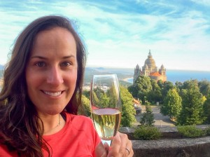 One of the best views in the world! Even better with a glass of Espumante!