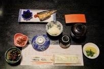 Breakfast at Ryokan Momotaro, Furusato, Iseji route
