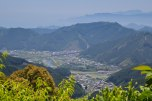 The view from the top of Tsuzurato toge pass, Iseji route