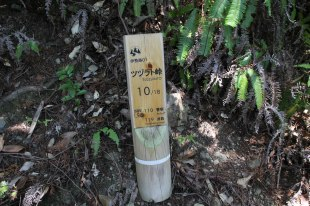 Tsuzurato toge pass official wooden marker