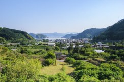 Looking towards Furusato on the Iseji route