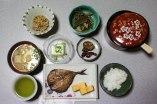 Breakfast at Minshuku Idobata, Ise Kashiwazaki, Iseji route