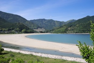 Atashika beach, Iseji route