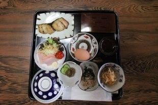 Breakfast at Ryokan Daishoukan in Kata on the Iseji route