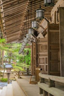 Temple buildings in the Danjo Garan complex, Koyasan