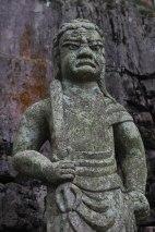 Stone statue in Koyasan