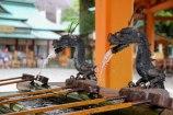 Water purifying basin at Nachi Taisha Grand Shrine