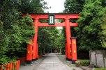 Torii gate at the entrance to Hayatama Taisha Grand Shrine, Shingu