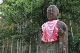 Tall Jizo guardian statue on top of Matsumoto toge pass, Iseji route