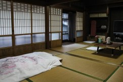 My beautiful room at Ryokan Daishoukan in Kata on the Iseji route
