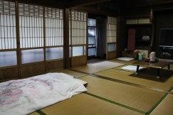 My beautiful room at Ryokan Daishoukan in Kata on the Iseji route