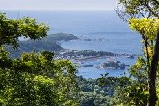 Seaview from Nagai zaka slope, Ohechi route