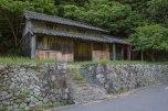 Old houses along the Ohechi route near the Nagai zaka slope