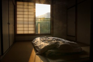 Woken up by the sunrise in Miura on the Kohechi trail