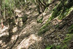 Kohechi trail, Totsukawa Onsen to Miura Guchi