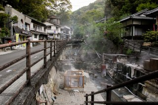 Tsuboyu Onsen - World Heritage in Yunomine Onsen