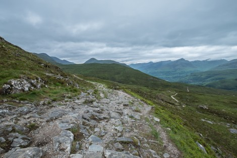 Views of the other side of the Devil's staircase