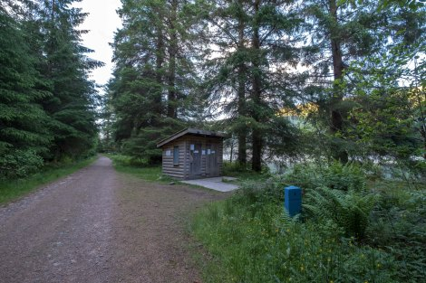 Glas-dhoire wild camp and compost toilets