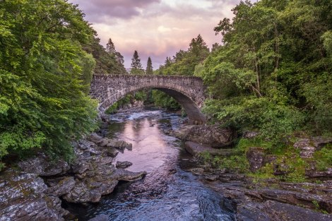 Thomas Telford's bridge over the River Moriston, Invermoriston