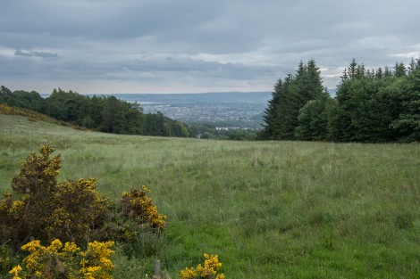 My first view of Inverness