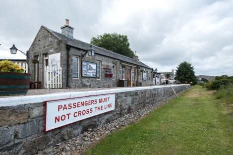 Old Cromdale station