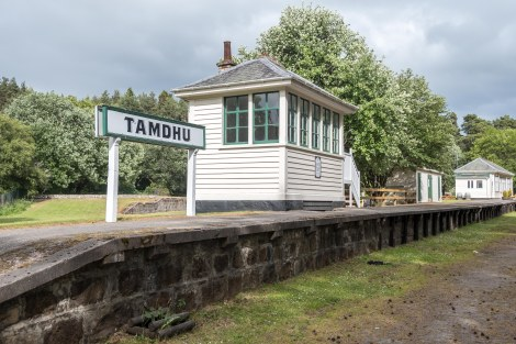 Old Tamdhu station