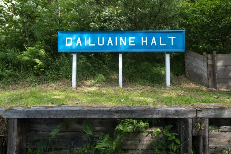 Old Dailuaine Halt station