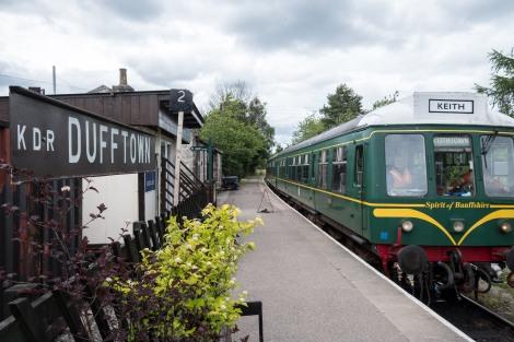 Dufftown station