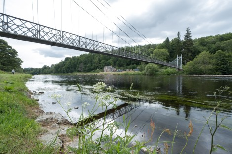 Victoria Bridge over the River Spey, Aberlour