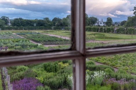 View of Gordon Castle Walled Garden