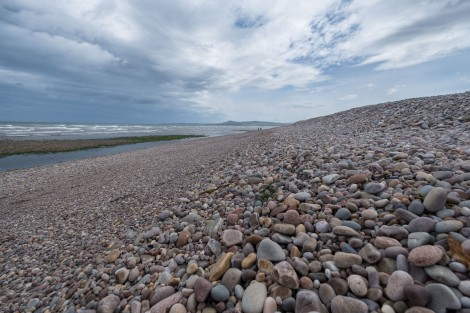 Shingle beach, Spey Bay