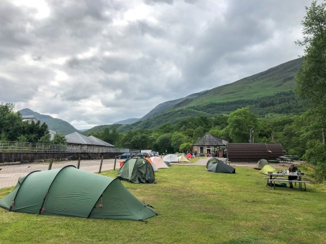 Blackwater Hostel and camping in Kinlochlevin