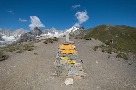 Grand Col Ferret, 2537m