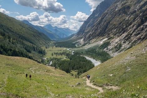 The Italian Val Ferret