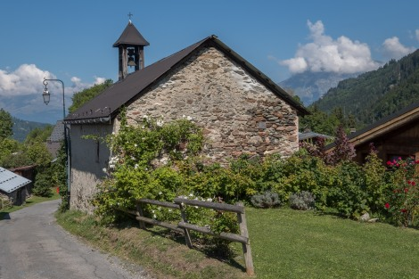 Chapelle du Champel - first built in 1661, it was rebuilt in 1700