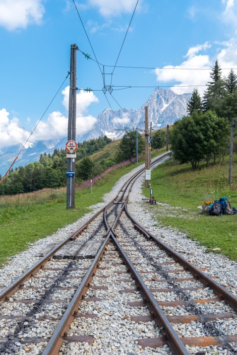The Tramway du Mont Blanc