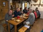 Dinner at Refuge des Mottets