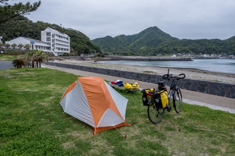 Camping at Odomari free campground