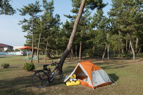Campground in Takanabe