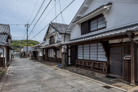 Traditional Edo and Meiji period houses of Mimitsu, Miyazaki