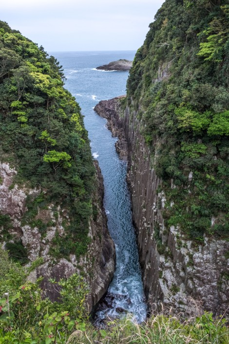 Umagase - 'the largest columnar rocks in Japan'