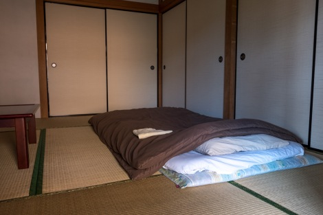My room at the beautiful Usuki-ya guesthouse
