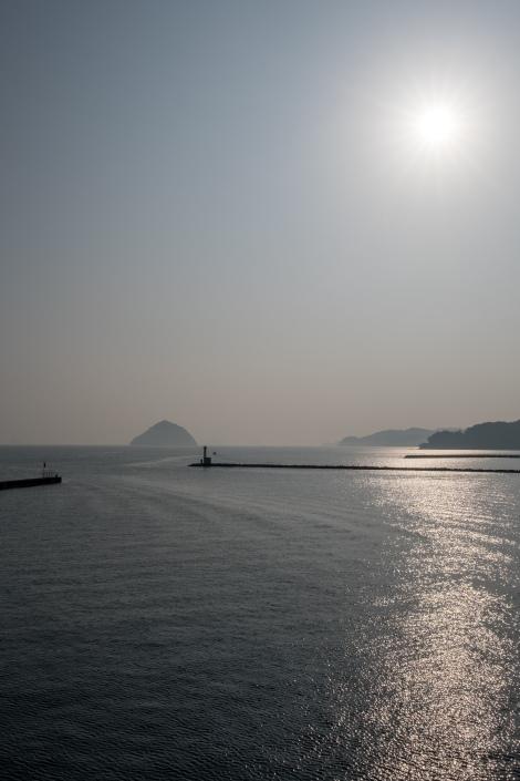 On the ferry from Usuki to Yawatahama (Kyushu to Shikoku)