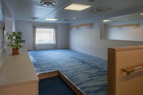 Areas to lie down and sleep on the ferry from Usuki to Yawatahama (Kyushu to Shikoku)SCF7823