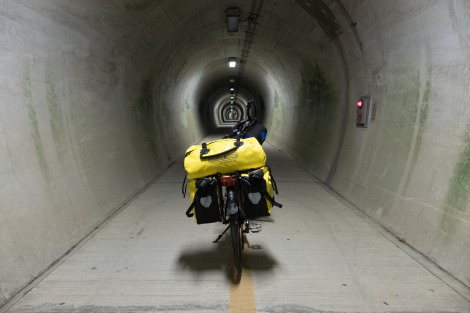 Tunnel time - this one just for pedestrians and cyclists
