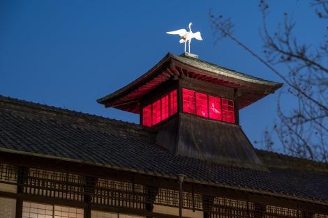 Dogo Onsen at dusk, Matsuyama
