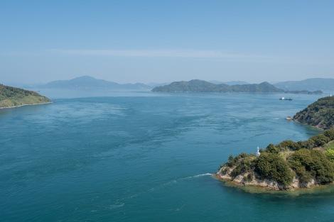 Island views from the Shimanami Kaido cycle path
